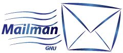 GNU mailman logo